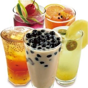 boissons lactées tapioca