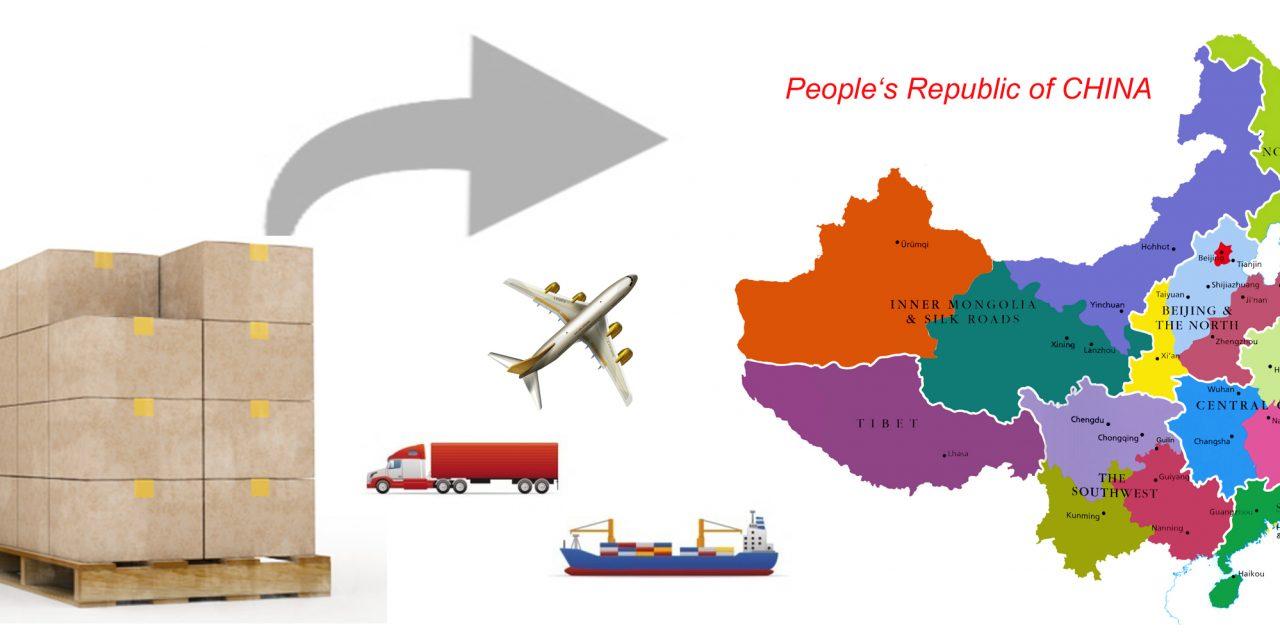Quelles sont les différentes solutions pour exporter en Chine ?