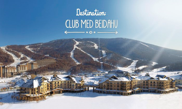 Club Med Beidahu, la deuxième station de ski club Med en Chine