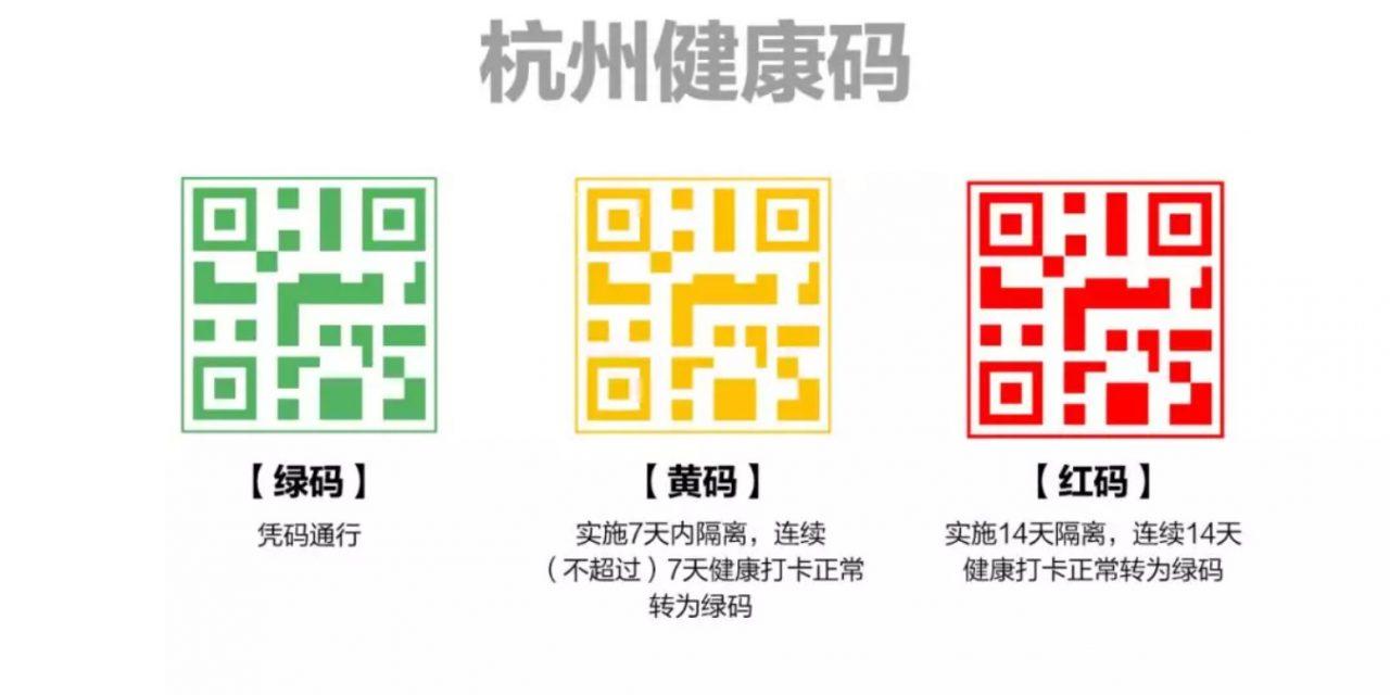 Le code sanitaire d'Alipay pour lutter contre le coronavirus en Chine