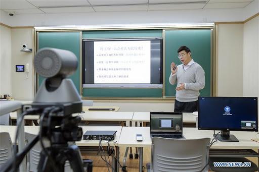 Le développement des programmes d'éducation en ligne en Chine