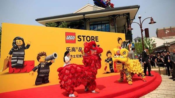 Lego prévoit d'étendre son activité en Chine (malgré les craintes liées aux coronavirus)