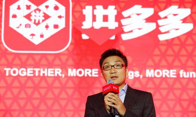 Le fondateur de Pinduoduo veut façonner l'e-commerce chinois de demain