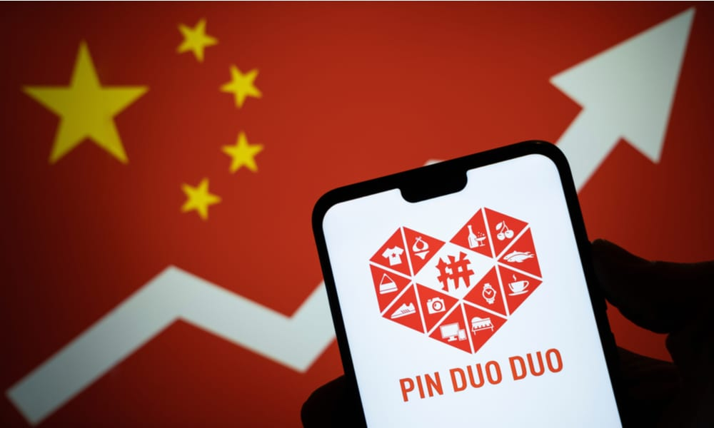 Pinduoduo est le deuxième détaillant en ligne en Chine (devant JD)