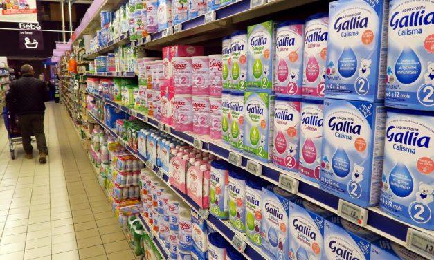 70 000 cartons de lait vendus en une minute par des KOL chinois